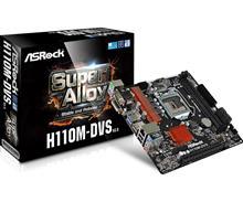 ASROCK H110M-DVS LGA 1151 Motherboard
